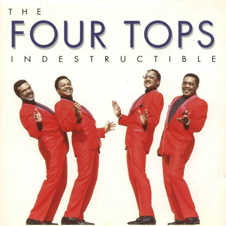 CD - Four Tops Indestructible