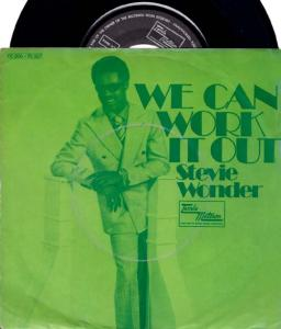 7inch - Wonder, Stevie We Can Work It Out