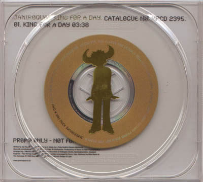 CD:Single - Jamiroquai King For A Day