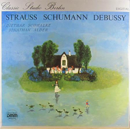 LP - Strauss / Schumann / Debussy Cello-Sonaten / Fantasiest