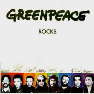 LP - Various Artists Greenpeace Rocks