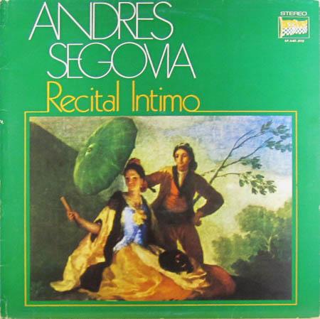 LP - Segovia, Andres Recital Intimo