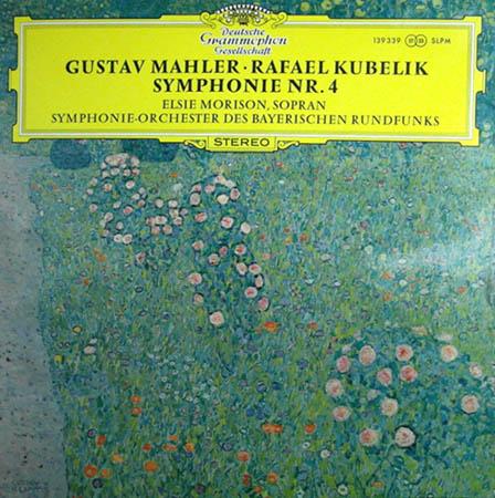 LP - Mahler, Gustav Symphonie Nr. 4