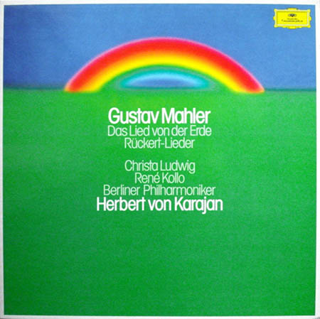 2LP - Mahler, Gustav Das Lied Von Der Erde - R