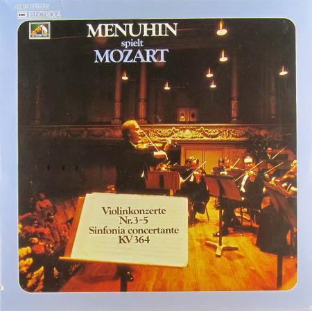 2LP - Mozart, Wolfgang Amadeus Menuhin Spielt Mozart