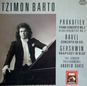 LP - Barto, Tzimon Piano Concerto No. 3 / Concerto En Sol / Rhapsody In Blue