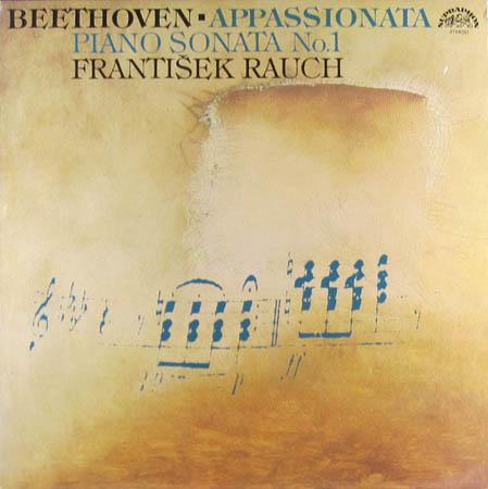 LP - Beethoven, Ludwig Van Appassionata / Piano Sonata Nos. 1