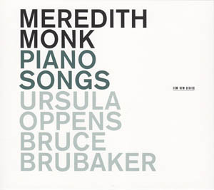 CD - Monk, Meredith Piano Songs