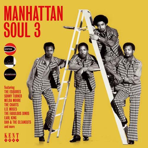 CD - Various Artists Manhattan Soul 3