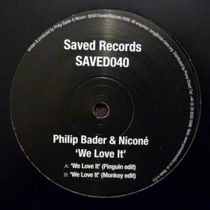 12inch - Nicone & Philip Bader We Love It