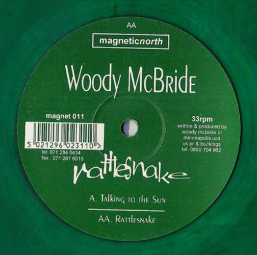 12inch - McBride, Woody Rattlesnake - Ltd green