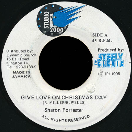 7inch - Forrester, Sharon Give Love On Christmas Day
