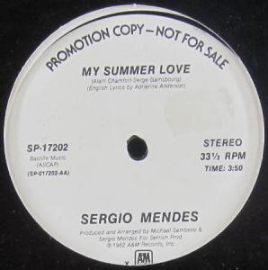 12inch - Mendes, Sergio My Summer Love