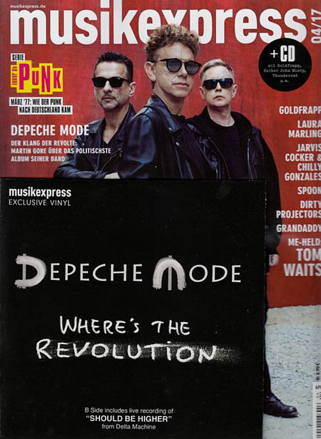 Magazine - Musikexpress April 2017