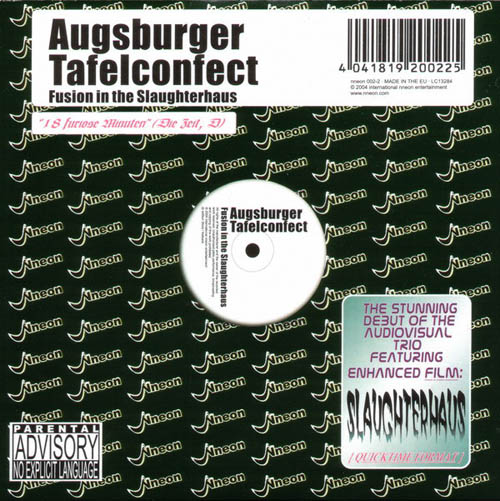 CD - Augsburger Tafelconfect Fusion In The Slaughterhaus