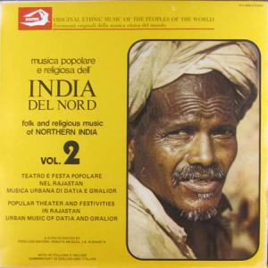 LP - Various Artists Folk And Religious Music Of Northern India Vol. 2
