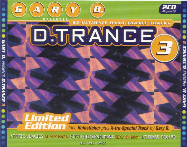 3CD - Gary D. D.Trance 3 - Ltd Edition