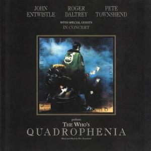 Book - Who, The Quadrophenia Concert Programm Book