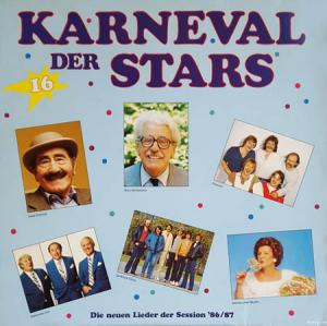 2LP - Various Artists Karneval Der Stars - Die Neuen Lieder Der Session '86/87