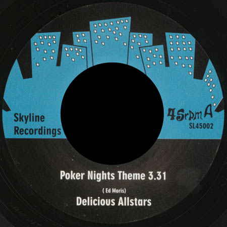 7inch - Delicious Allstars Poker Nights Theme / Mooging Day