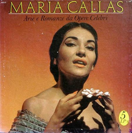 5LP - Callas, Maria Arie E Romanze Da Opere Celebri