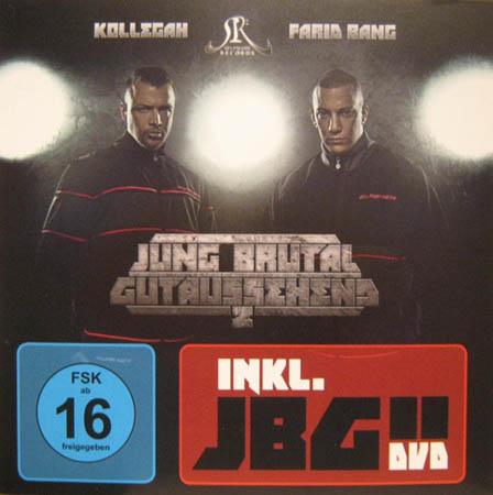 CD + DVD - Kollegah & Farid Bang Jung Brutal Gutaussehend 2 - Premium Edition