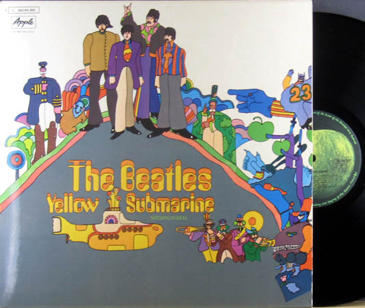 LP - Beatles Yellow Submarine