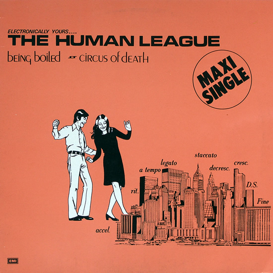 12inch - Human League Being Boiled