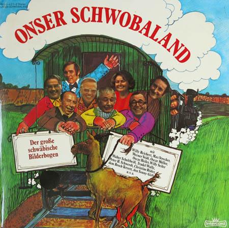 2LP - Various Artists Onser Schwobaland - Der Gro