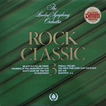 LP - London Symphony Orchestra, The Classic Rock 3 - Rhapsody In Black