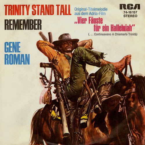 7inch - Soundtrack by Gene Roman Trinity Stand Tall / Remember