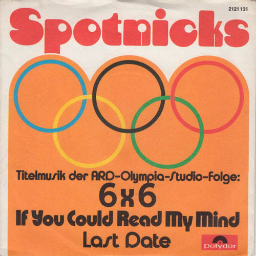 7inch - Spotnicks, The If You Could Read My Mind