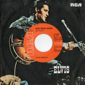 7inch - Presley, Elvis Blue Suede Shoes / Tutti Frutti