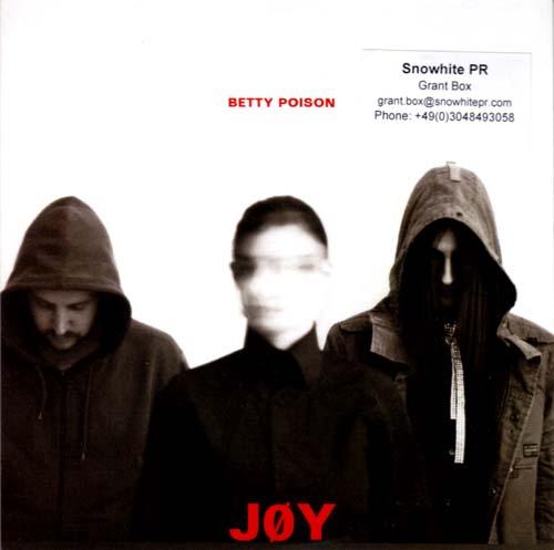 CD:Single - Betty Poison Joy