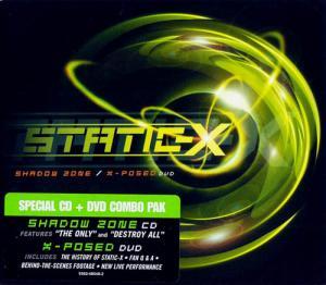CD - Static-X Shadow Zone / X-Posed