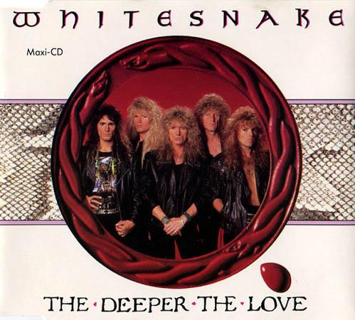 CD:Single - Whitesnake The Deeper The Love