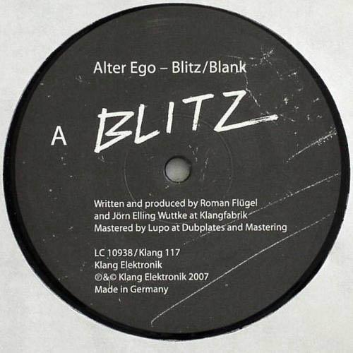 12inch - Alter Ego Blitz / Blank