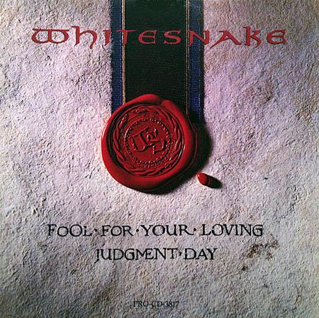 CD:Single - Whitesnake Fool For Your Loving / Judgment Day