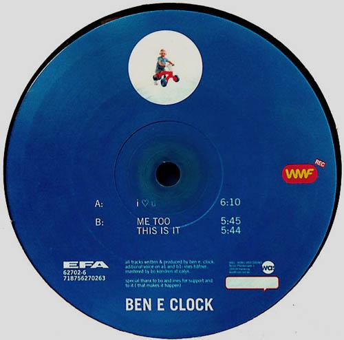 12inch - Ben E Clock I love U