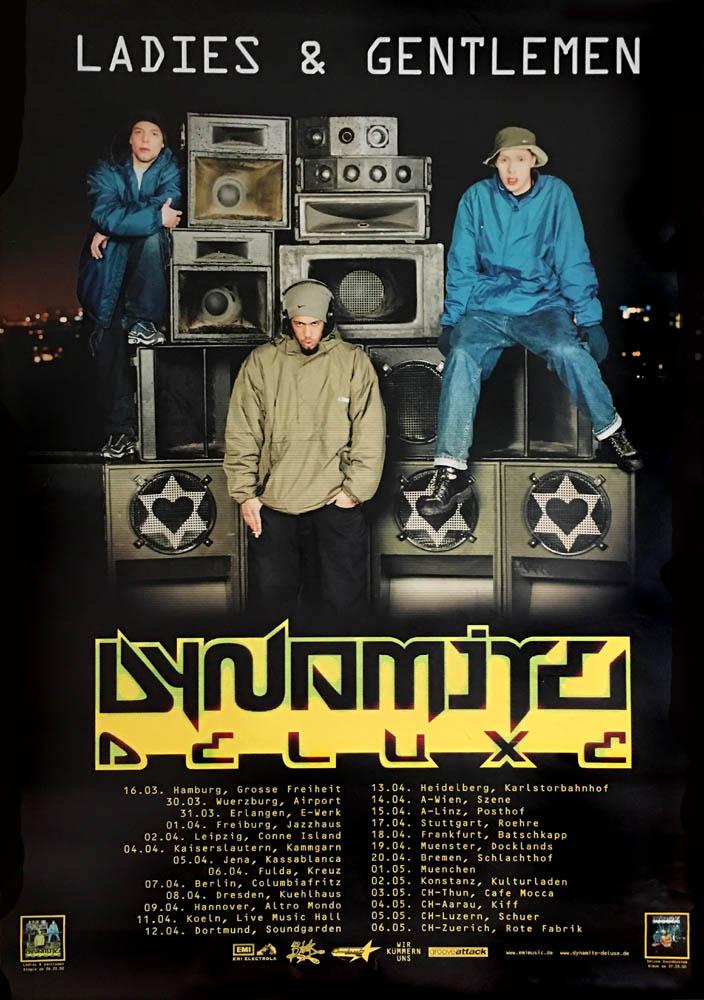 Poster - Dynamite Deluxe Ladies & Gentlemen - Tour Poster