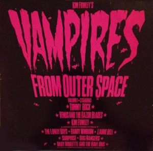 LP - Various Artists Vampires From Outer Space