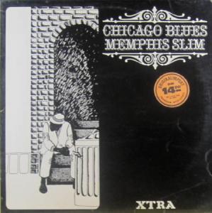 LP - Memphis Slim Chicago Blues
