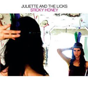 CD:Single - Juliette & The Licks Sticky Honey