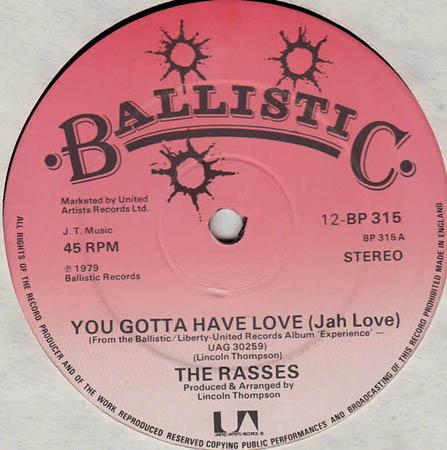 12inch - Rasses, The You Gotta Have Love