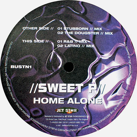 12inch - Sweet P Home Alone