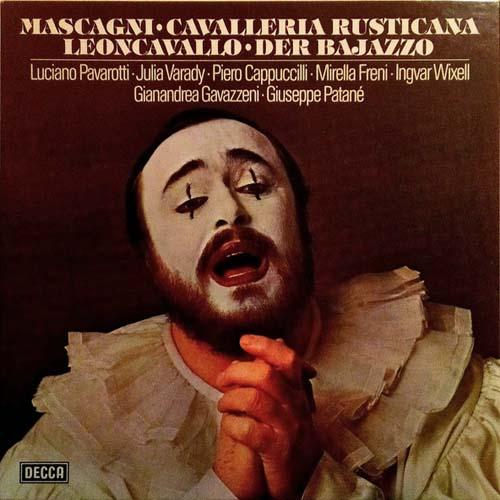 3LP - Mascagni, Pietro & Ruggiero Leoncavallo Cavalleria Rusticana / Der Bajazzo