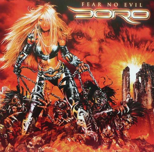 LP - Doro Fear No Evil - Orange coloured vinyl