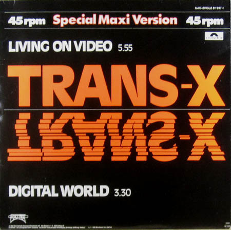 12inch - Trans-X Living On Video