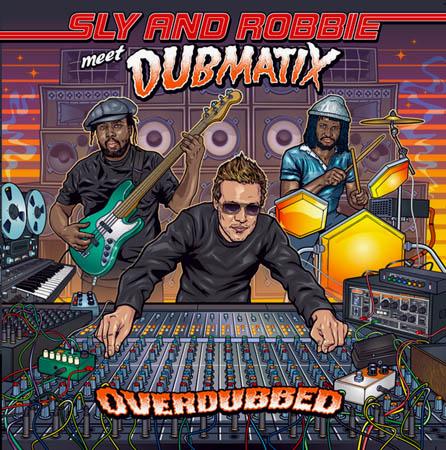 LP - Sly & Robbie Meet Dubmatix Overdubbed