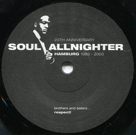7inch - Various Artists Soul Allnighter